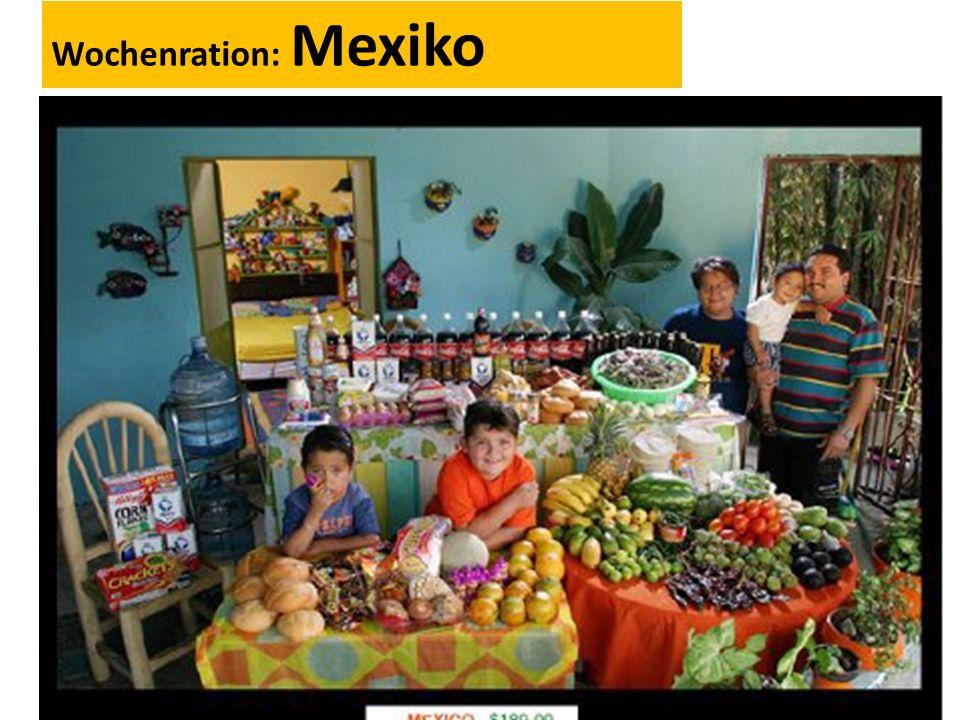 Wochenration: Mexiko