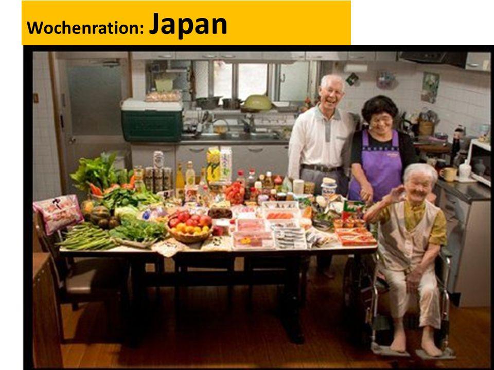 Wochenration: Japan