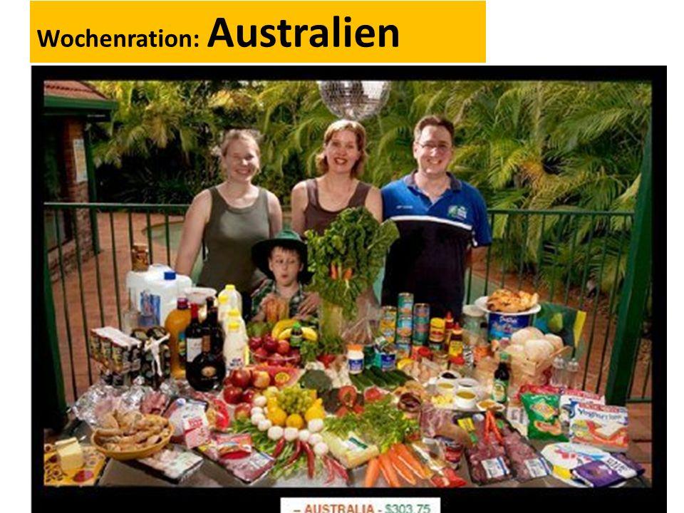 Wochenration: Australien