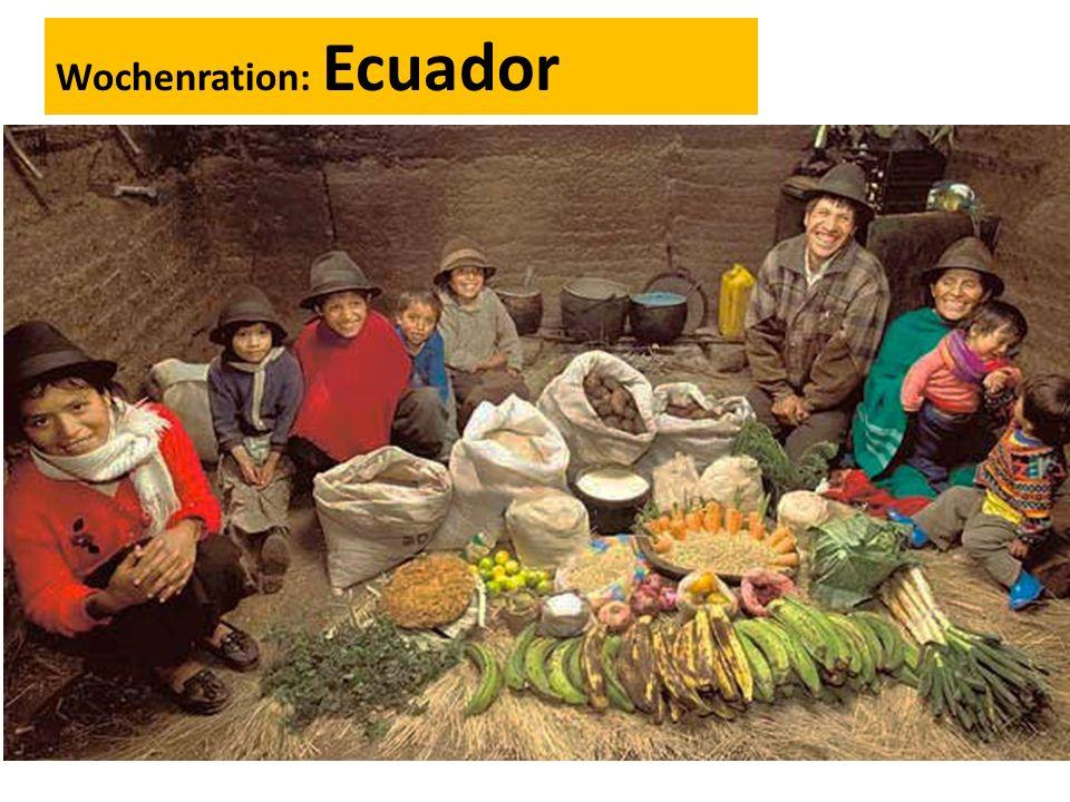 Wochenration: Ecuador