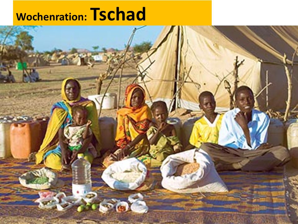 Wochenration: Tschad