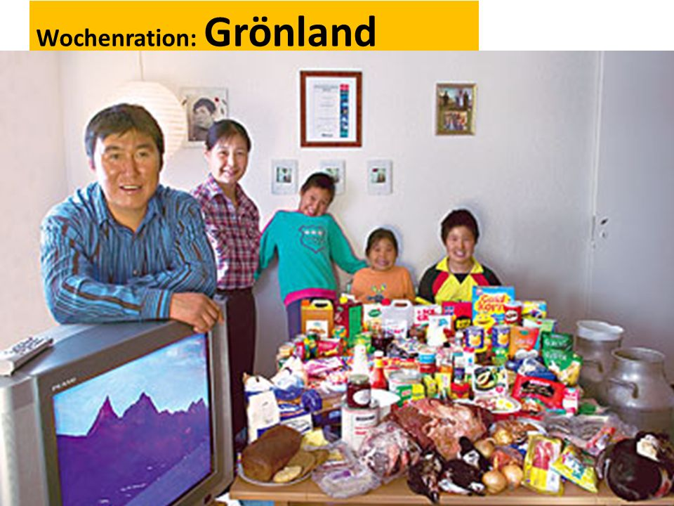Wochenration: Grönland
