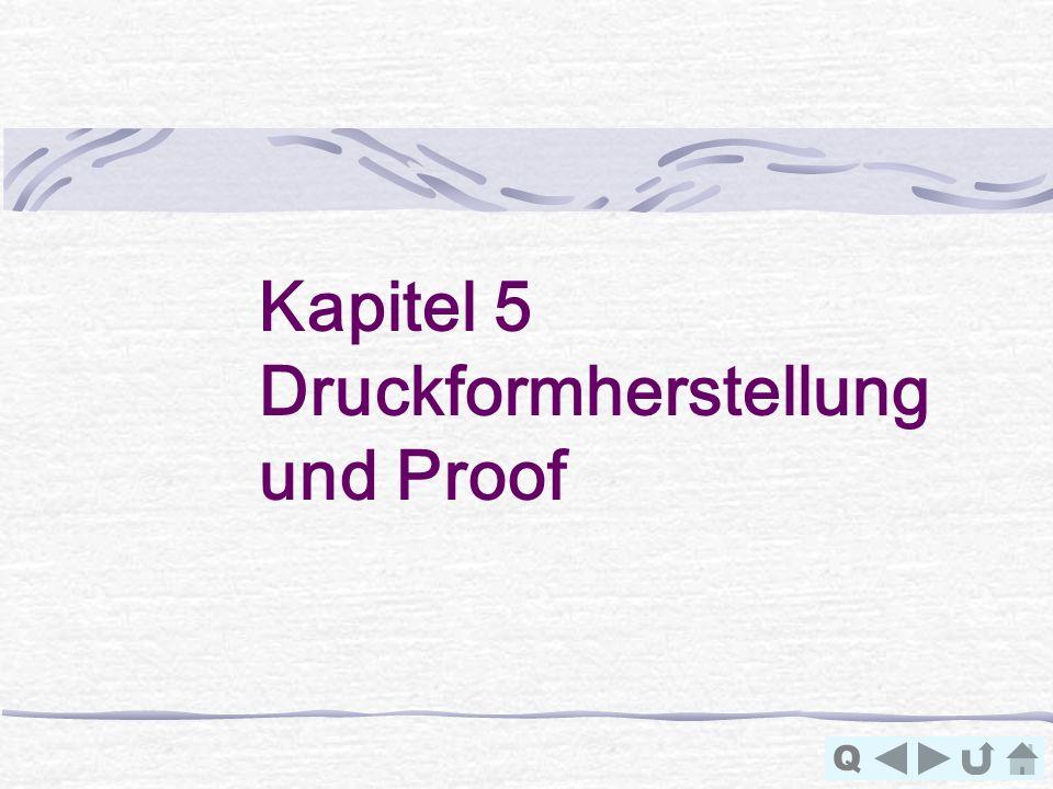 Kapitel 5 Druckformherstellung und Proof