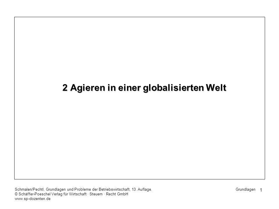 2 Agieren in einer globalisierten Welt