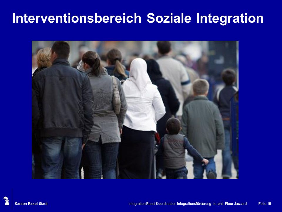 Interventionsbereich Soziale Integration