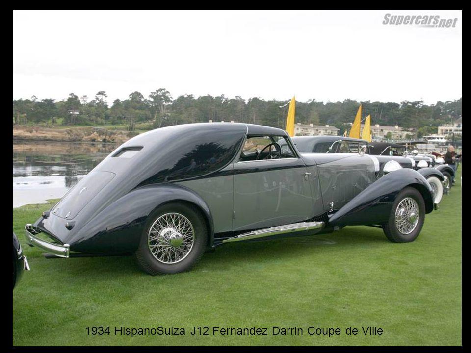 1934 HispanoSuiza J12 Fernandez Darrin Coupe de Ville