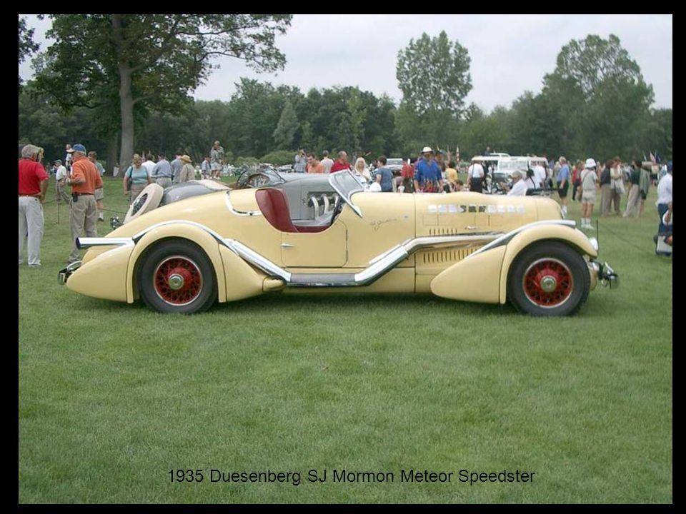 1935 Duesenberg SJ Mormon Meteor Speedster