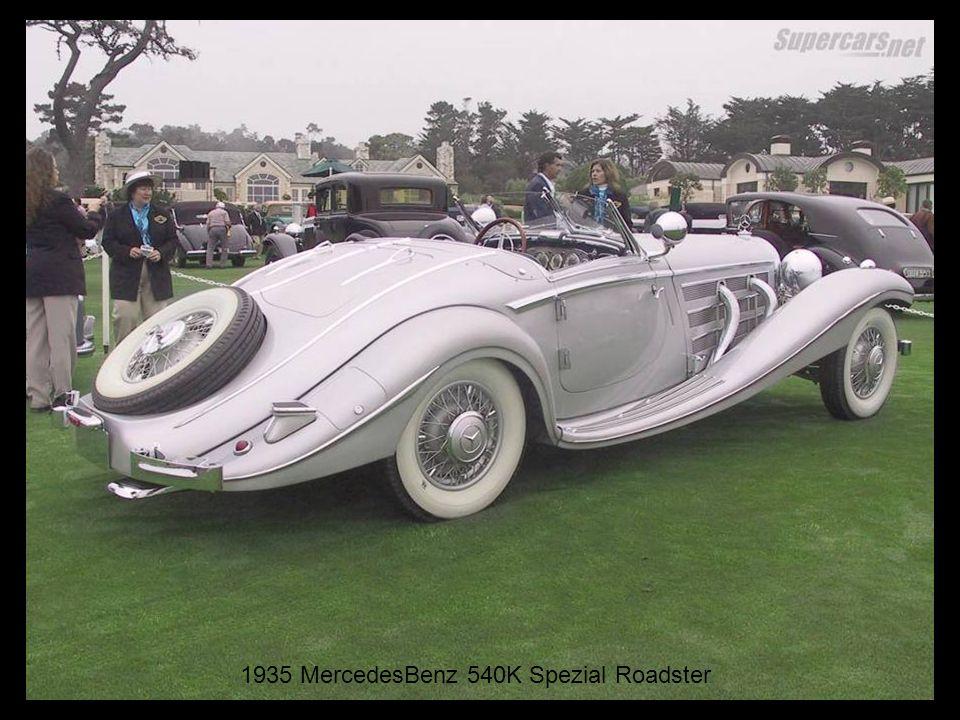 1935 MercedesBenz 540K Spezial Roadster