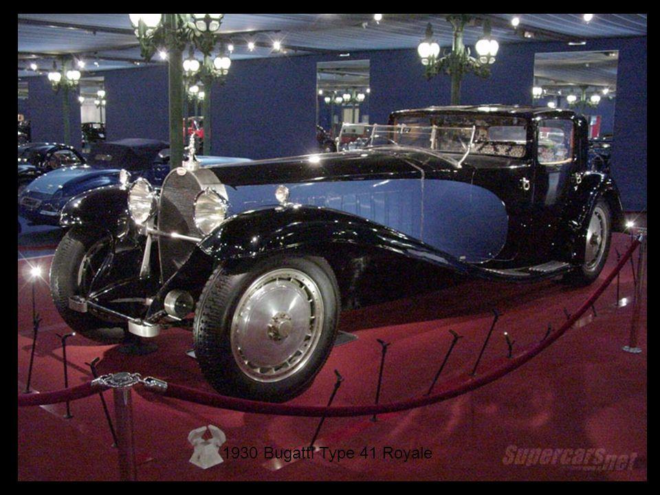 1930 Bugatti Type 41 Royale