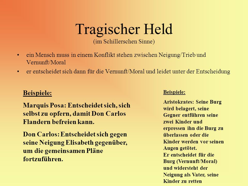 Tragischer Held (im Schillerschen Sinne)