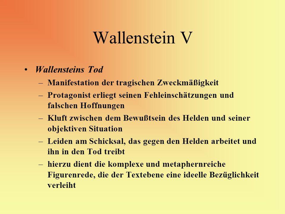 Wallenstein V Wallensteins Tod