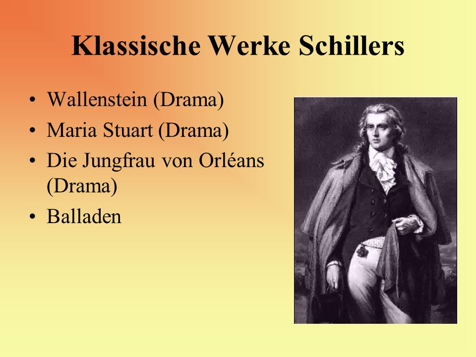 Klassische Werke Schillers