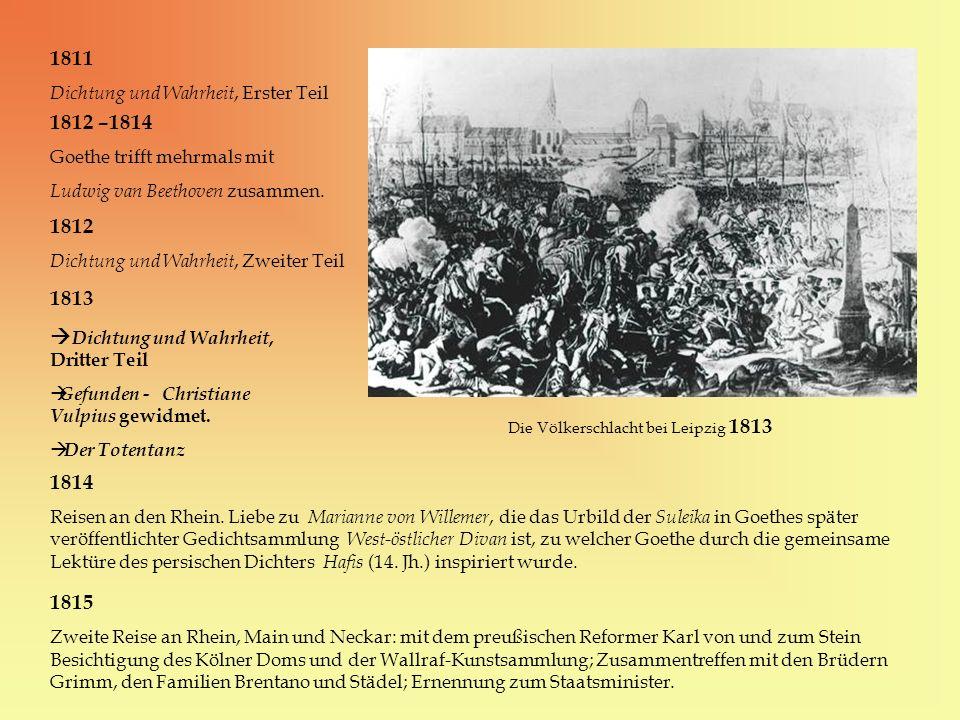 Die Völkerschlacht bei Leipzig 1813