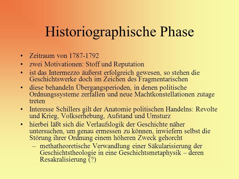 Historiographische Phase