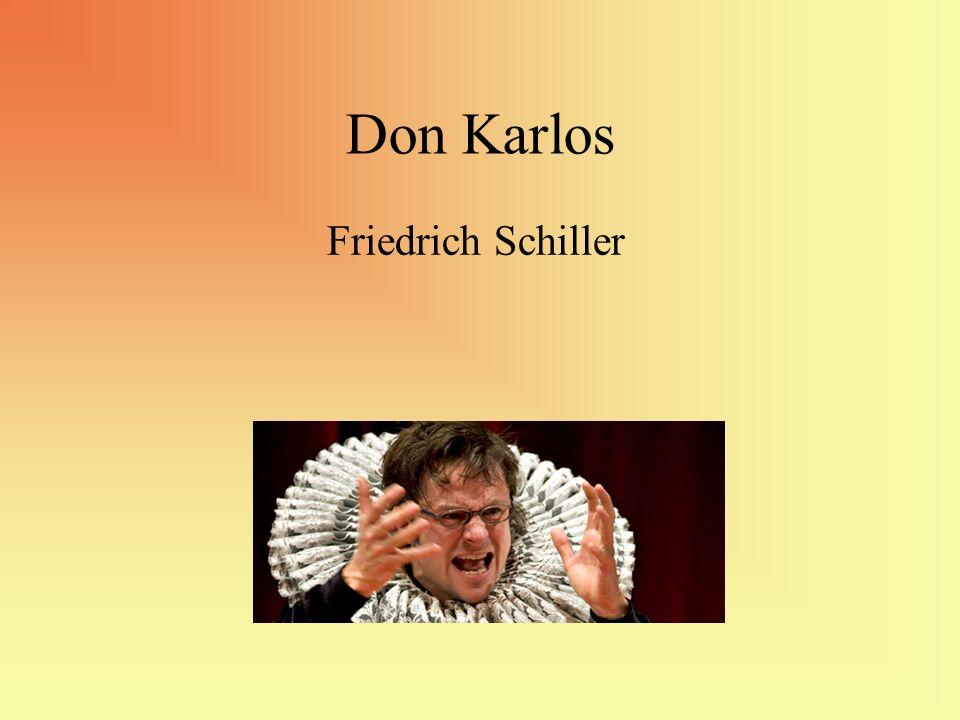 Don Karlos Friedrich Schiller