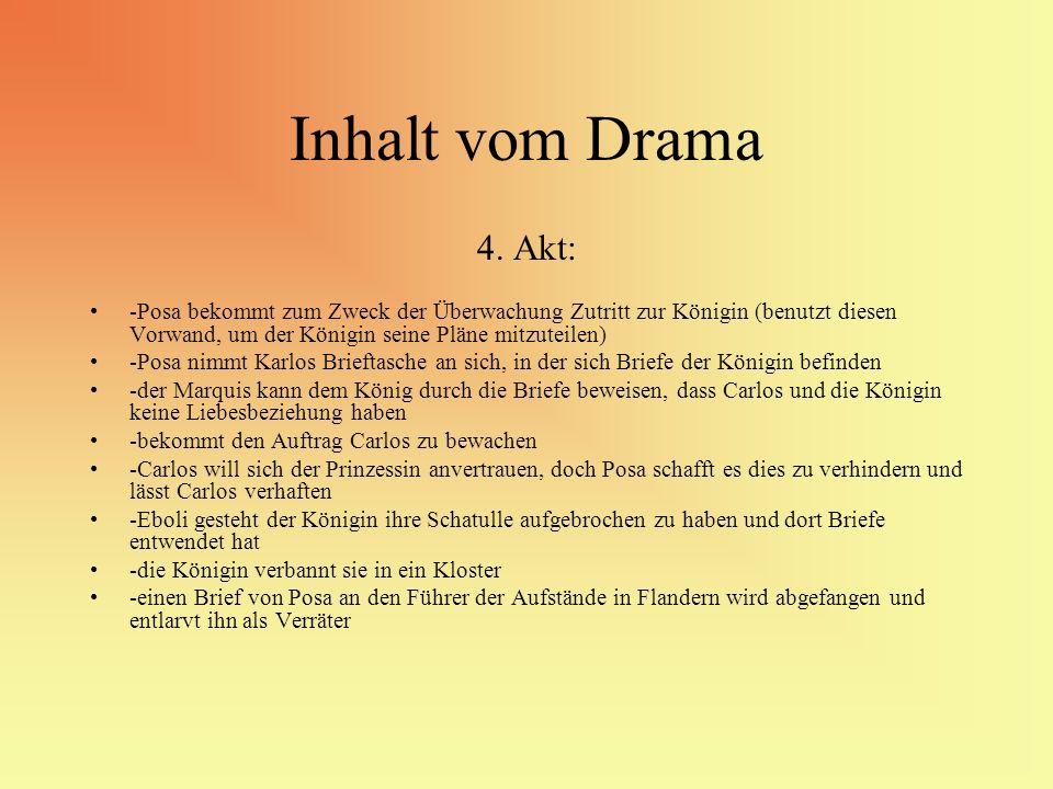 Inhalt vom Drama 4. Akt: