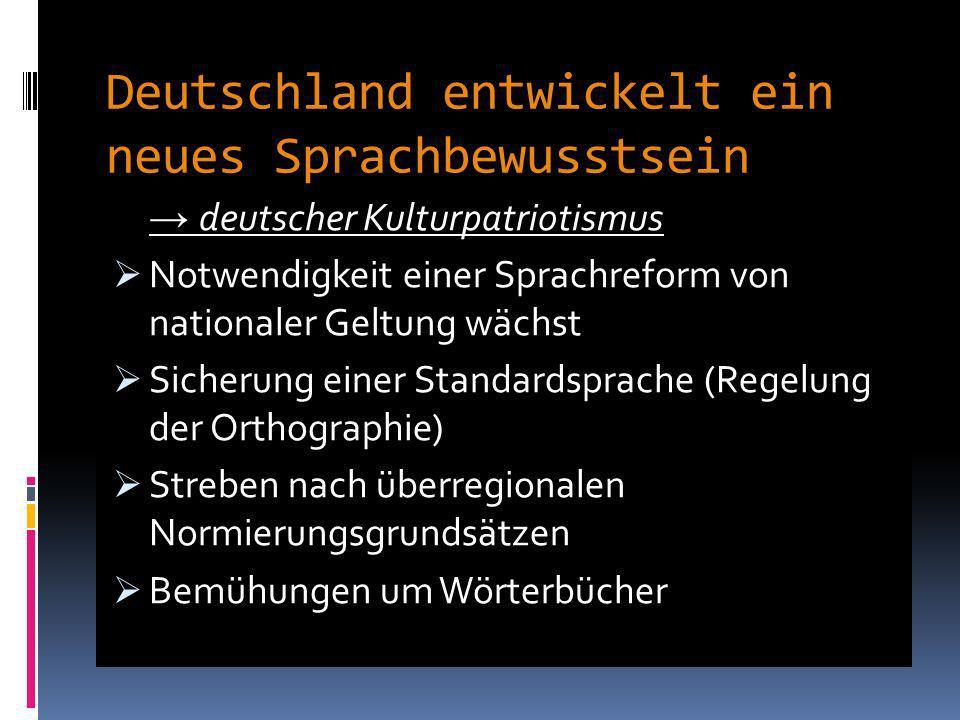 Deutschland entwickelt ein neues Sprachbewusstsein