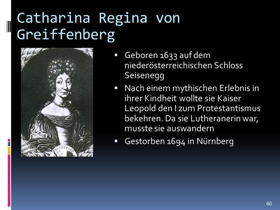 Catharina Regina von Greiffenberg