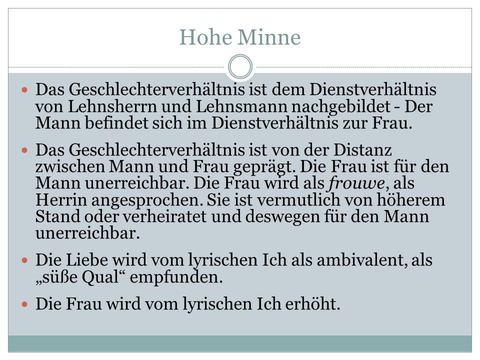 Hohe Minne
