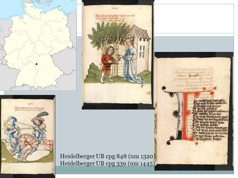 Heidelberger UB cpg 848 (um 1320)