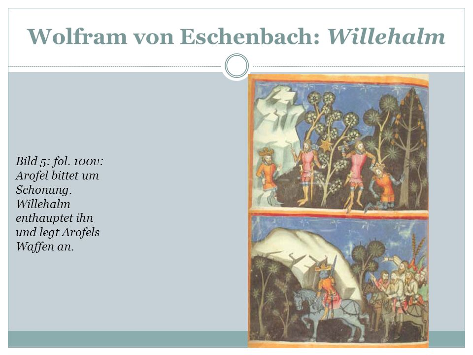 Wolfram von Eschenbach: Willehalm
