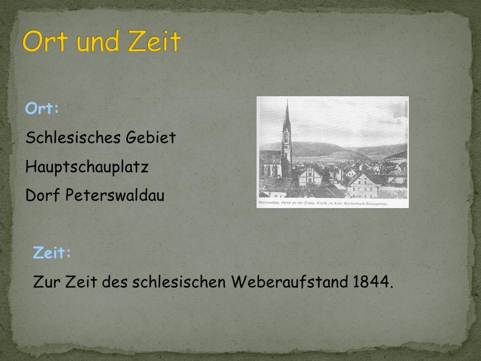 Ort und Zeit Ort: Schlesisches Gebiet Hauptschauplatz