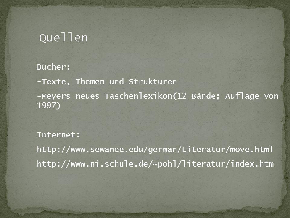Quellen Bücher: -Texte, Themen und Strukturen