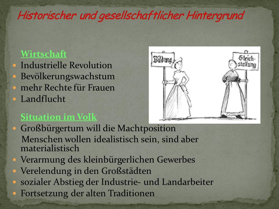 Historischer und gesellschaftlicher Hintergrund