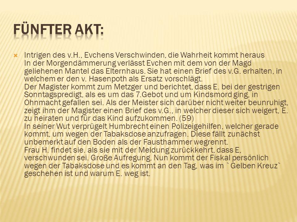 Fünfter Akt: