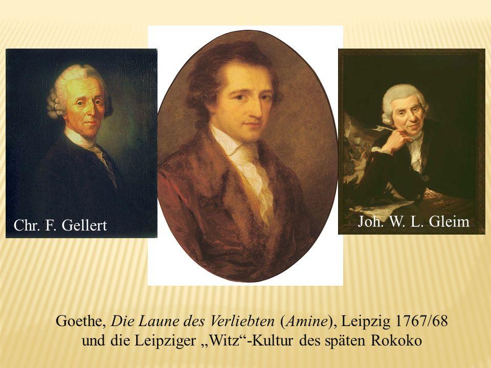 Goethe, Die Laune des Verliebten (Amine), Leipzig 1767/68