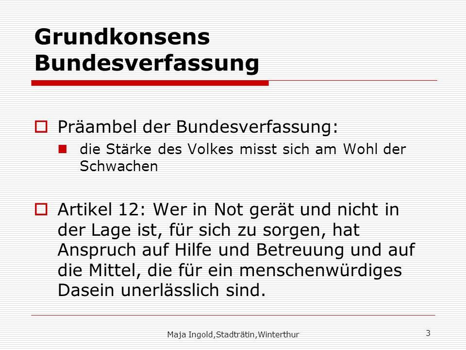 Grundkonsens Bundesverfassung