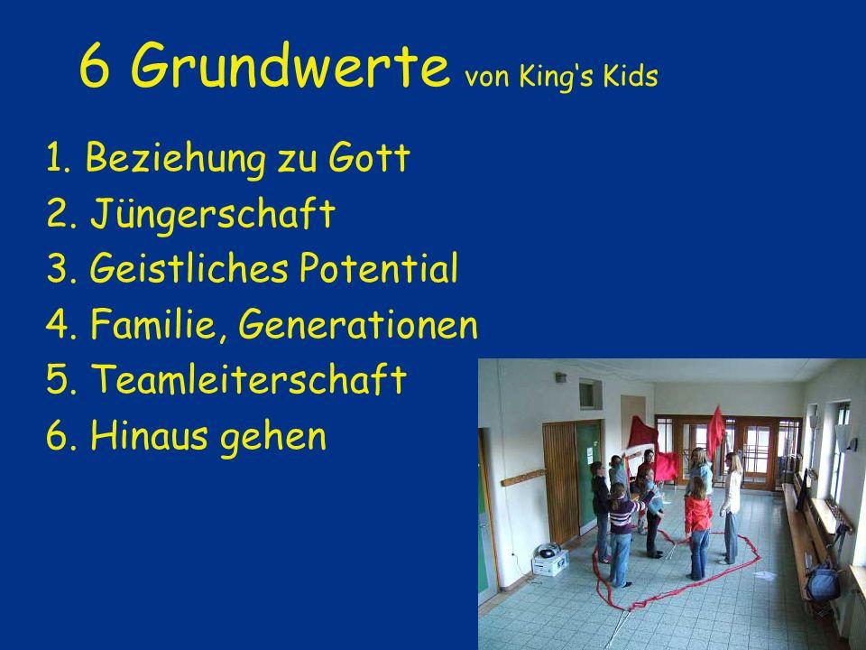 6 Grundwerte von King's Kids
