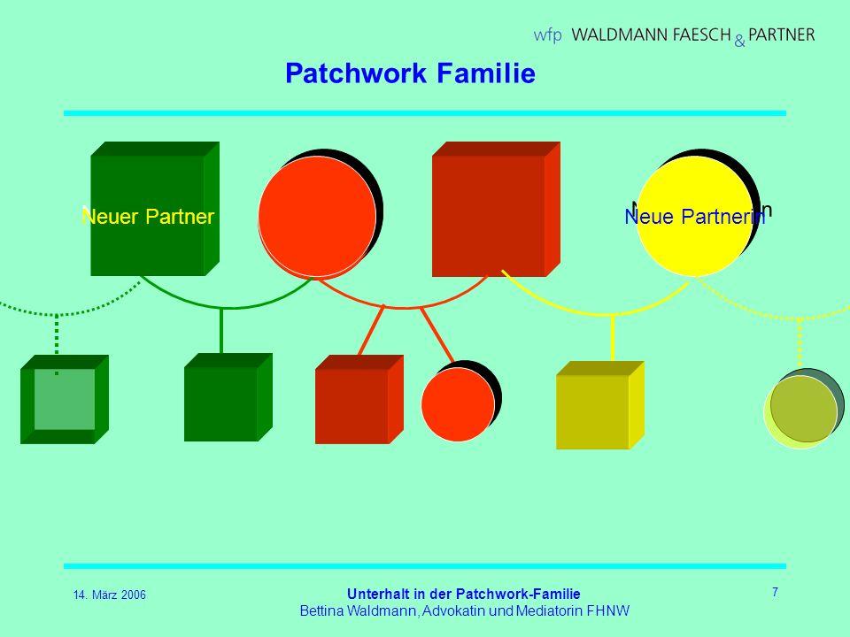 Unterhalt in der Patchwork-Familie