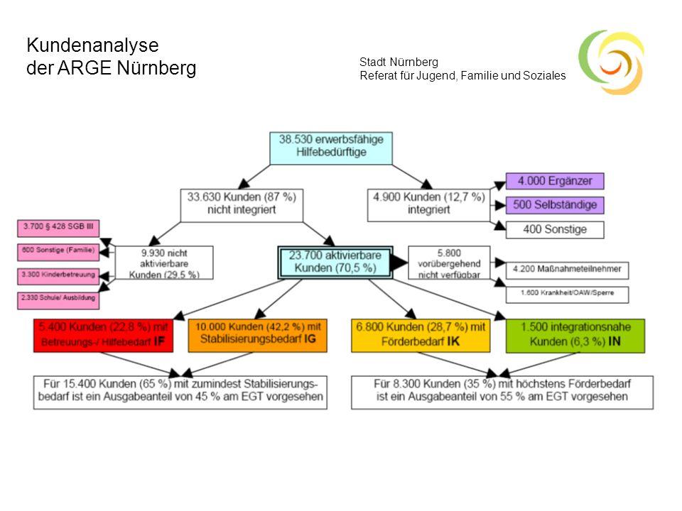 Kundenanalyse der ARGE Nürnberg