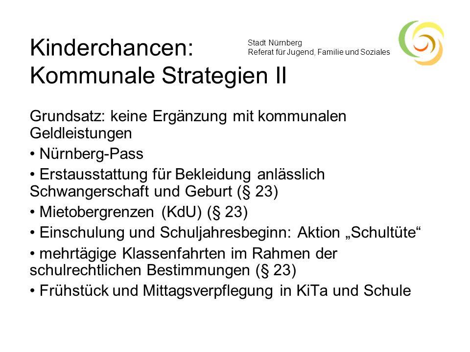 Kinderchancen: Kommunale Strategien II