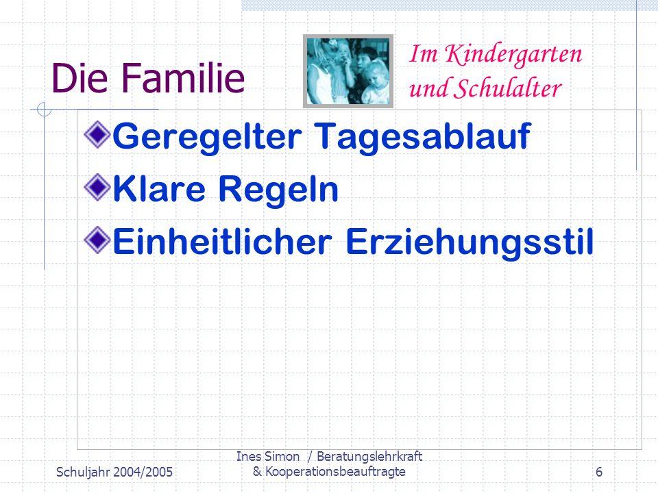Ines Simon / Beratungslehrkraft & Kooperationsbeauftragte