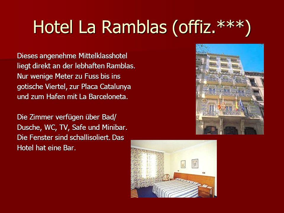 Hotel La Ramblas (offiz.***)