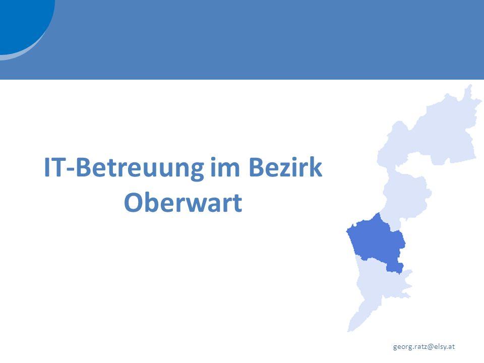 IT-Betreuung im Bezirk Oberwart