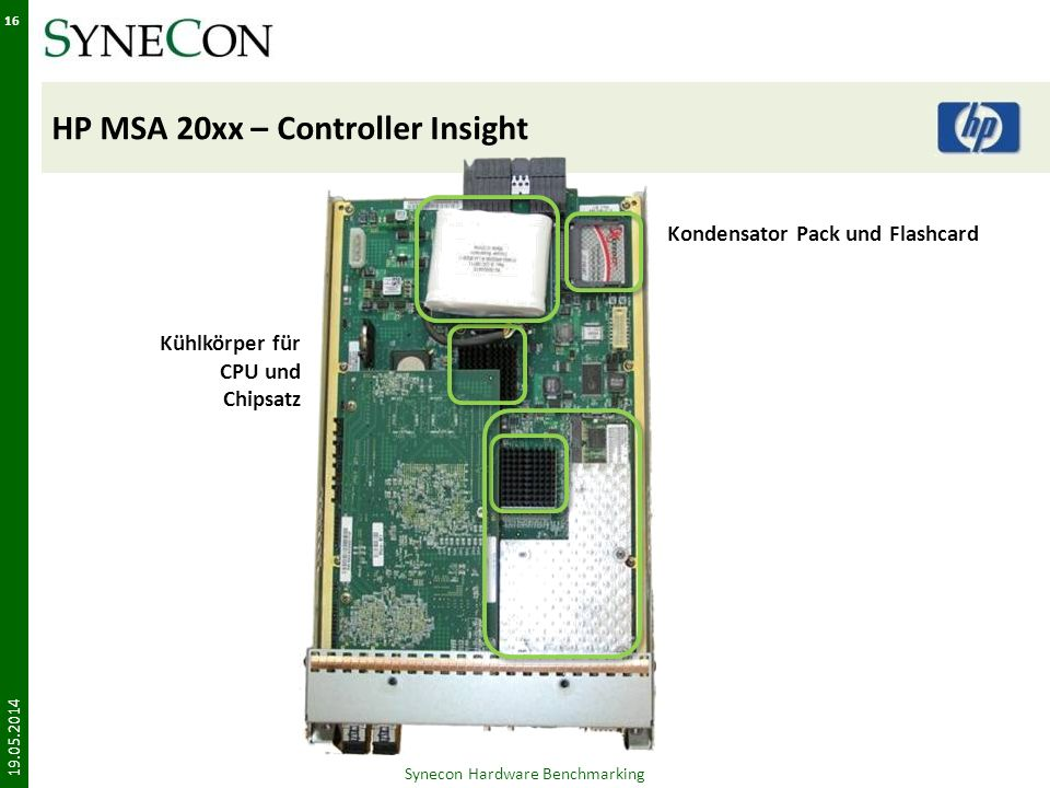 HP MSA 20xx – Controller Insight