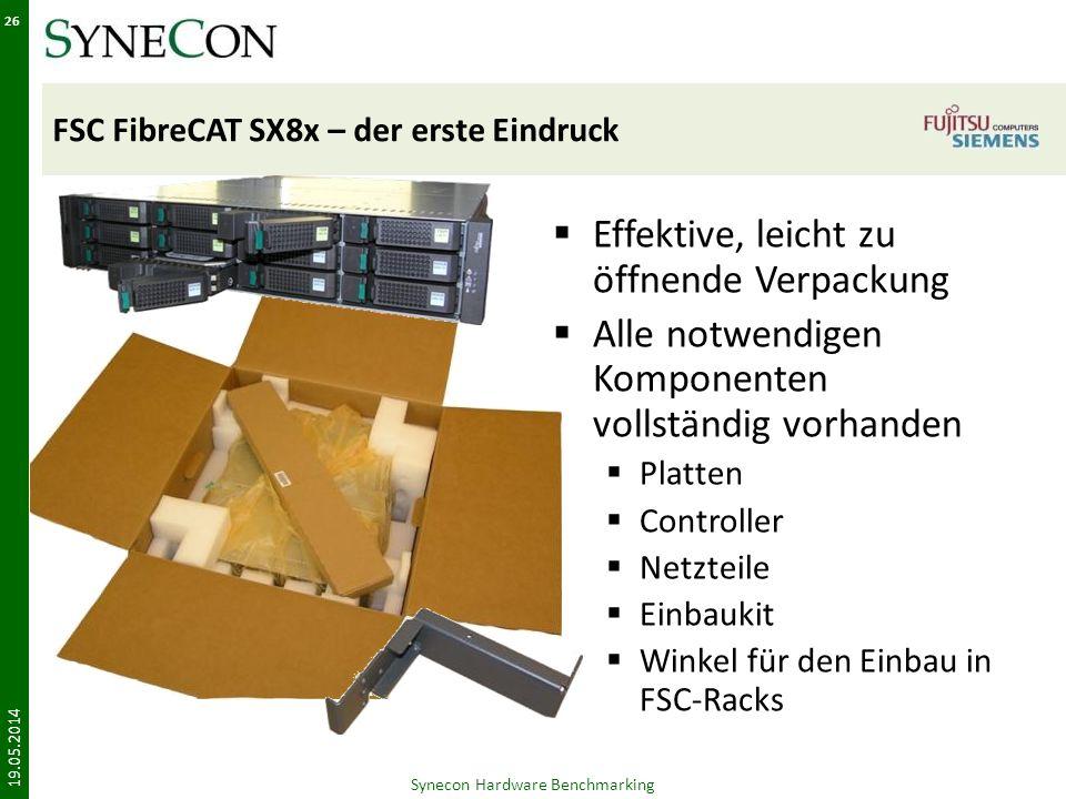 FSC FibreCAT SX8x – der erste Eindruck
