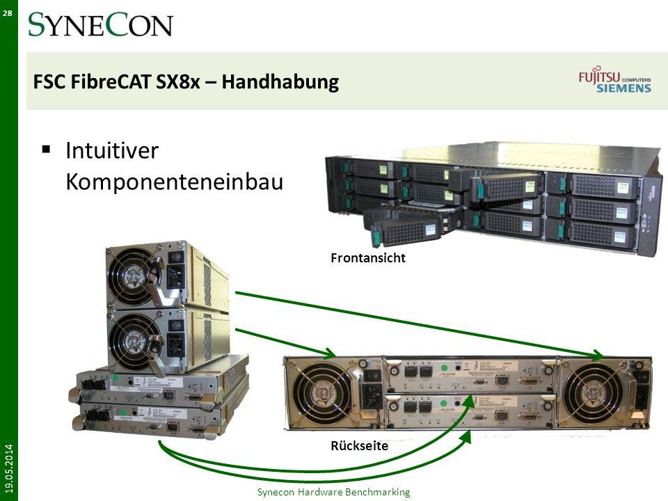 FSC FibreCAT SX8x – Handhabung