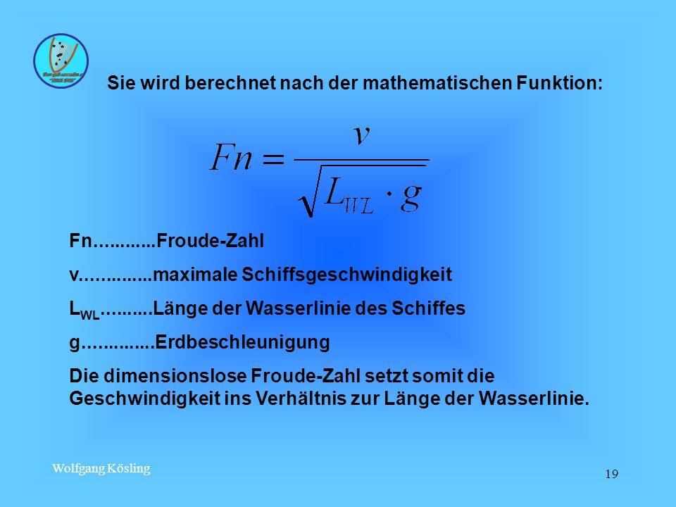 Sie wird berechnet nach der mathematischen Funktion: