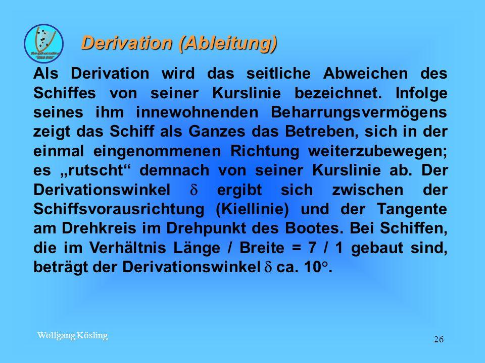 Derivation (Ableitung)