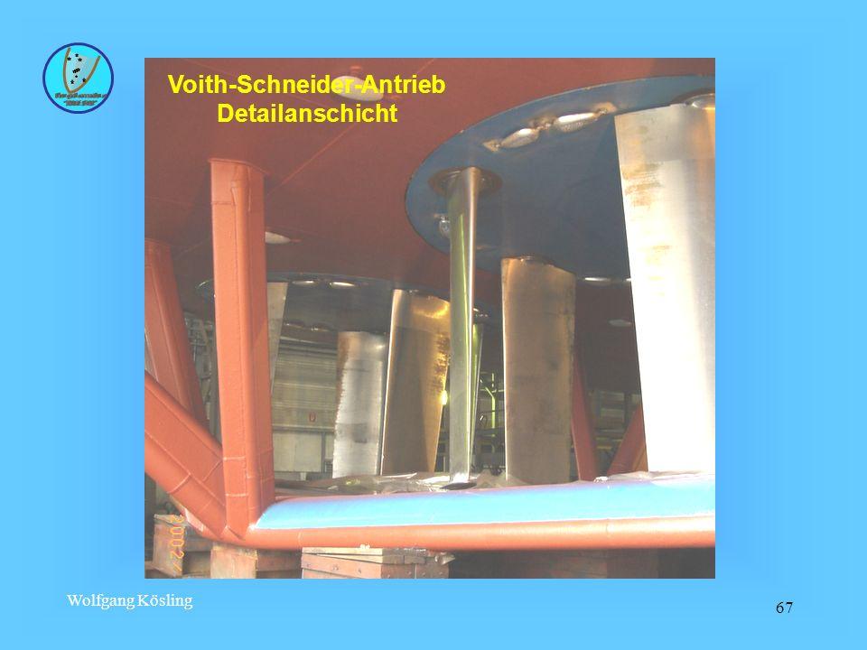 Voith-Schneider-Antrieb Detailanschicht