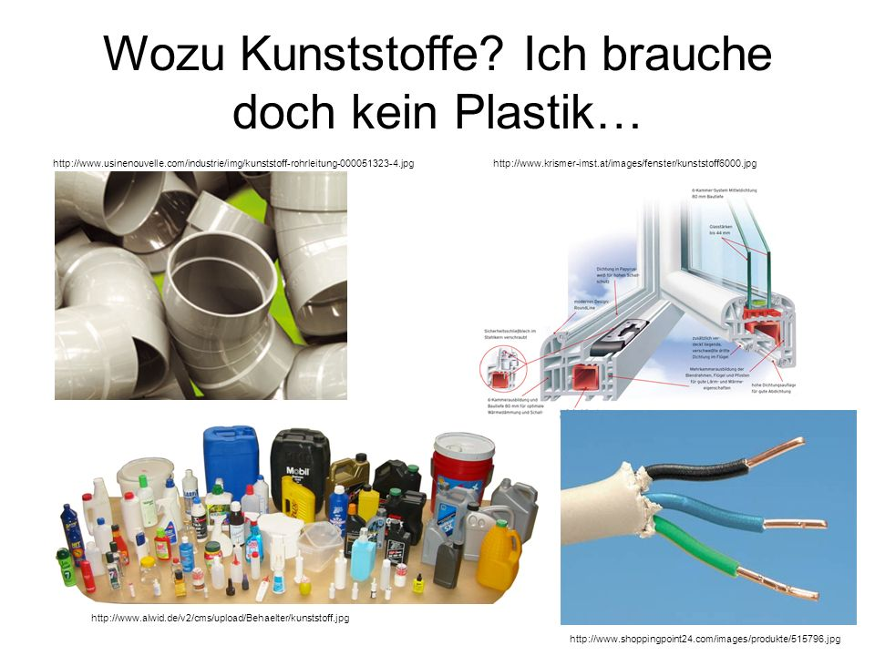 Wozu Kunststoffe Ich brauche doch kein Plastik…