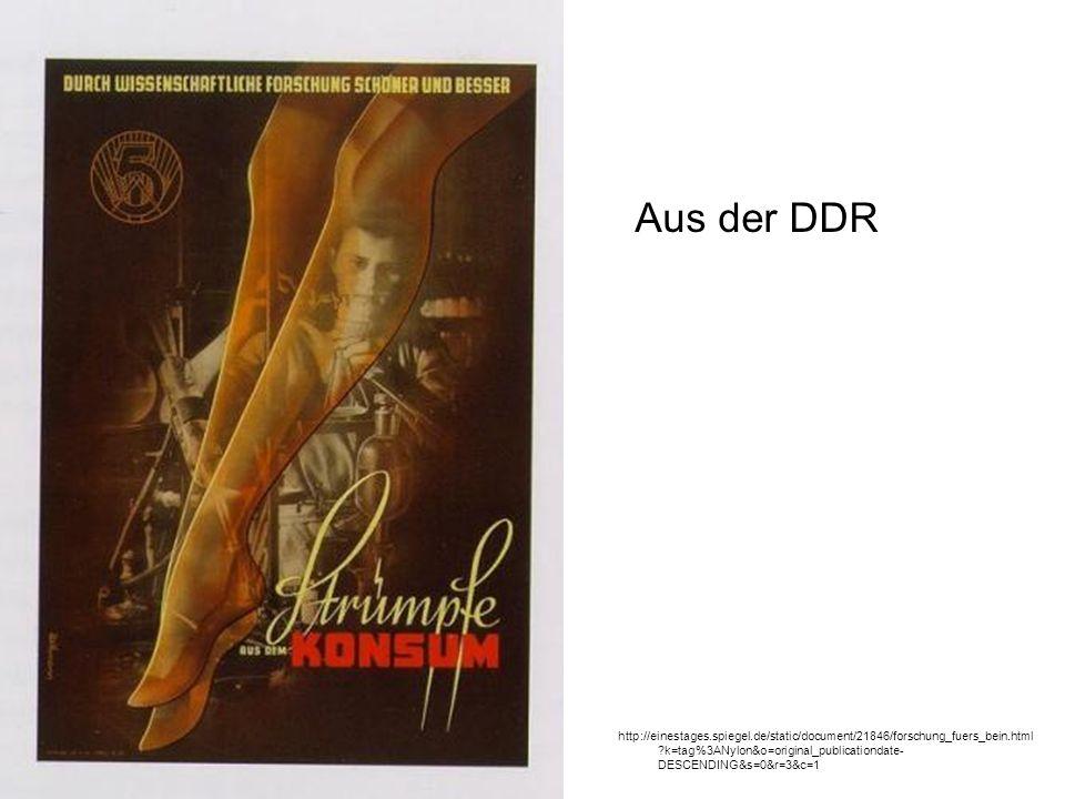 Aus der DDR