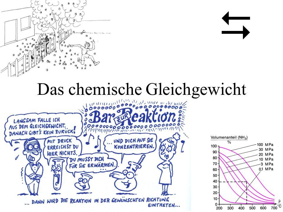 Das chemische Gleichgewicht