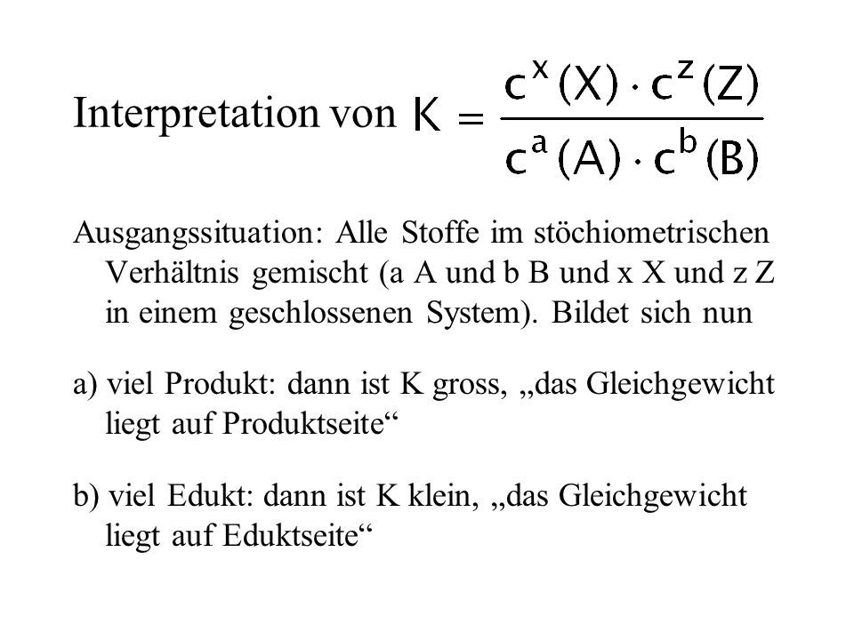 Interpretation von