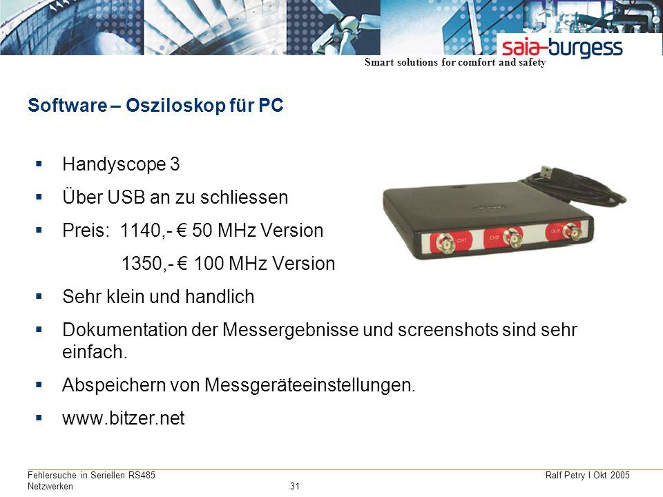 Software – Osziloskop für PC
