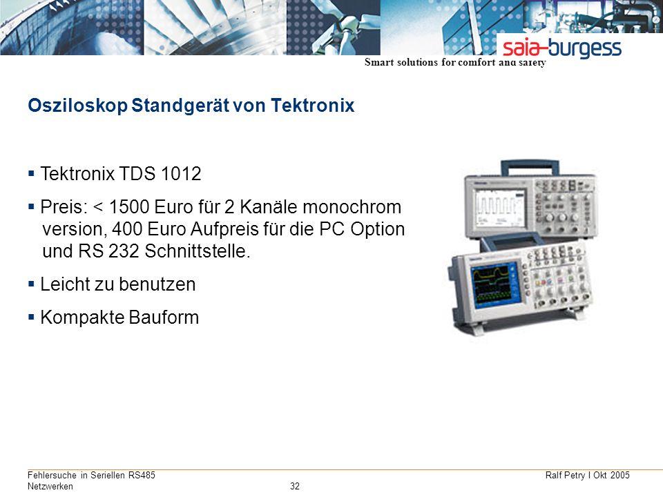 Osziloskop Standgerät von Tektronix